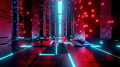 Ambient Cyberpunk City Music